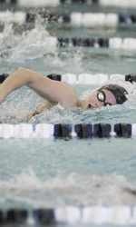 MSU Swim & Dive Hanging Tough After 1st Day of Purdue Invite