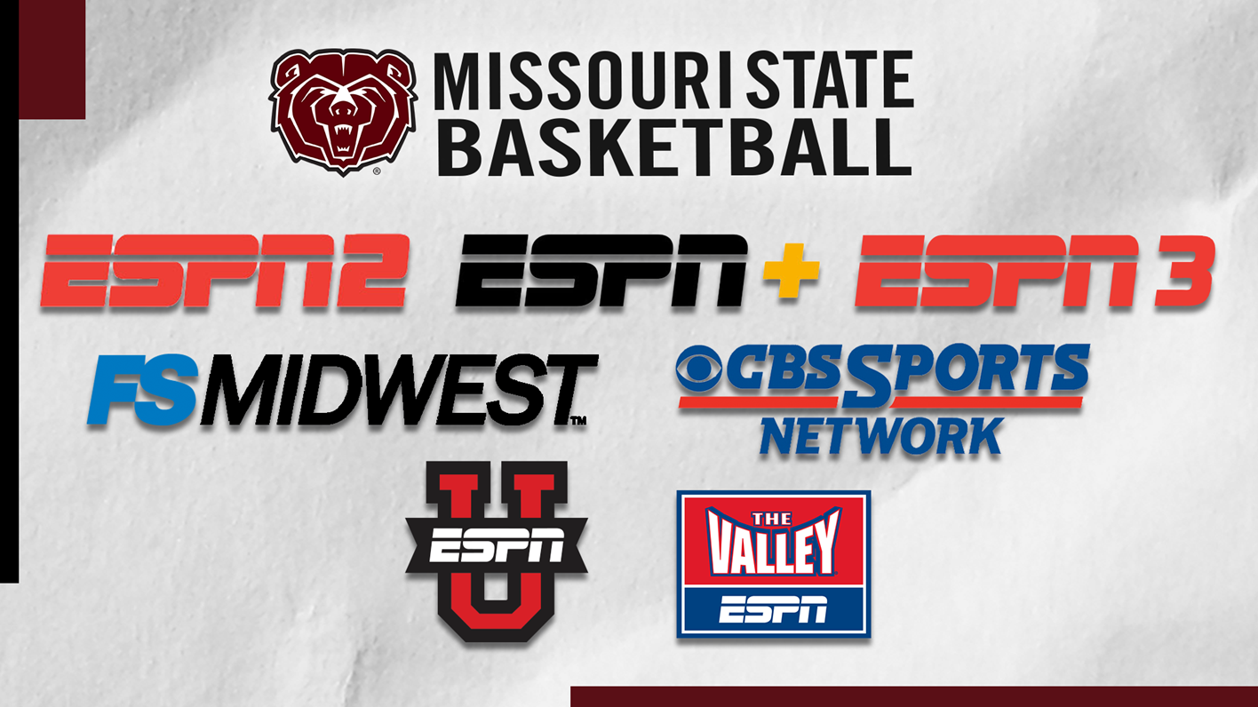 basketball bears assigned to national tv games - missouri state