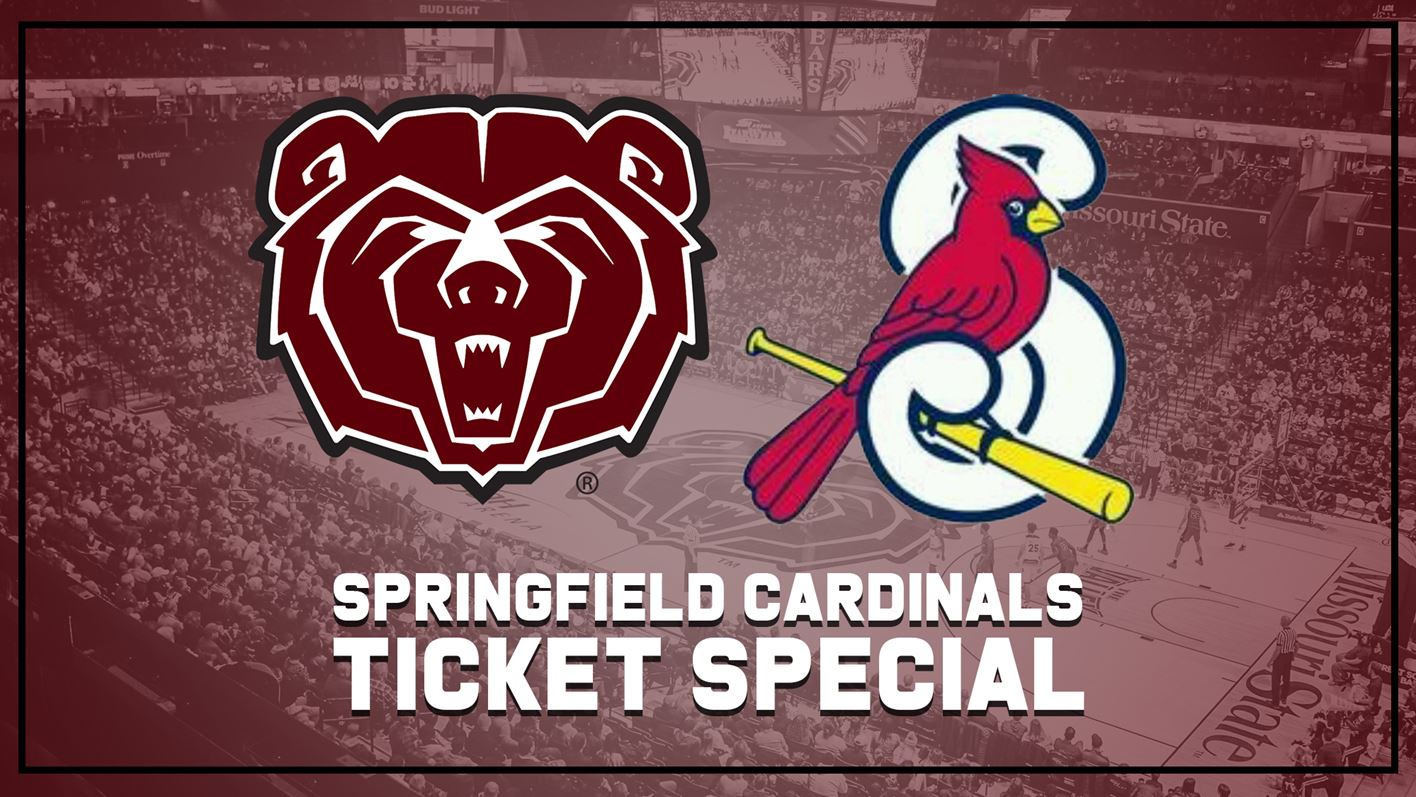 Missouri State Teams With Springfield Cardinals For Feb 23